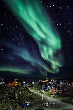 uploads landscape aurora borealis vertical greenland sisimiut