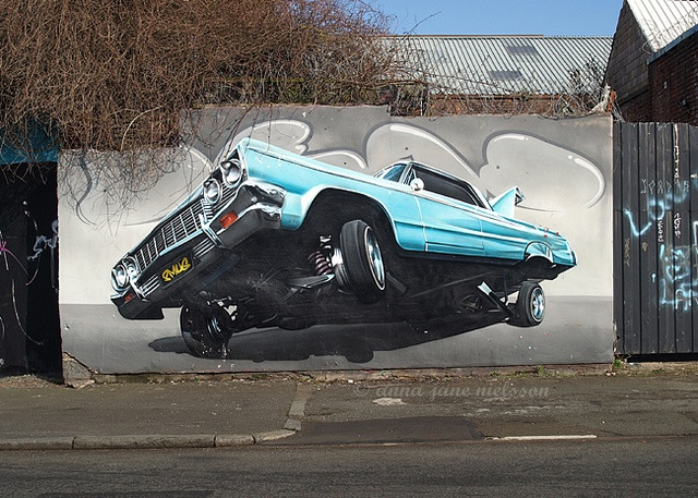 street art - car