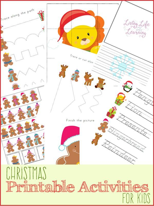 15 Best Images About Christmas Kids Activities On