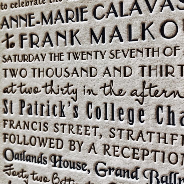 letterpress @ the collectors room