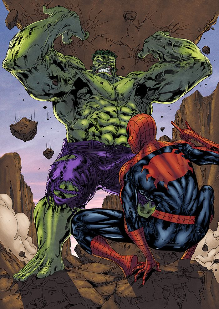 Spider-Man vs. Hulk ® | Marvel | Pinterest