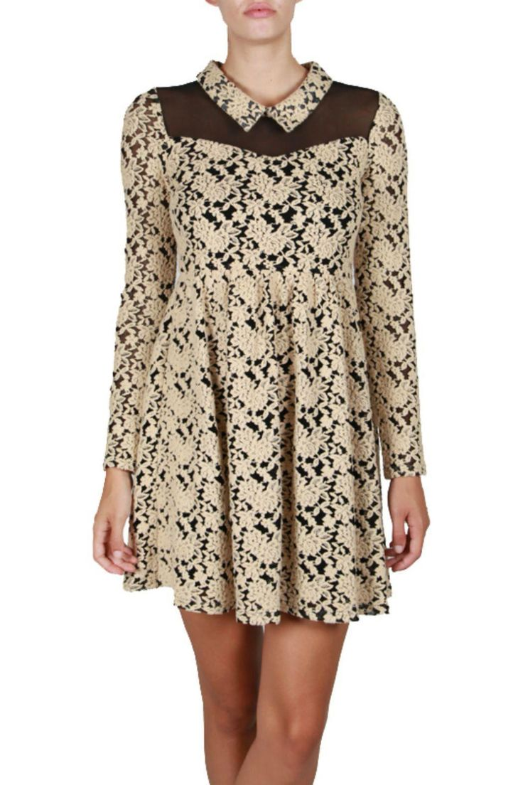 78 Best ideas about Cream Vintage Dresses on Pinterest - Vintage ...