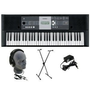 Amazon.com: Yamaha YPT-230 Premium Keyboard Pack with Headphones, Power Supply, and Stand: Musical Instruments