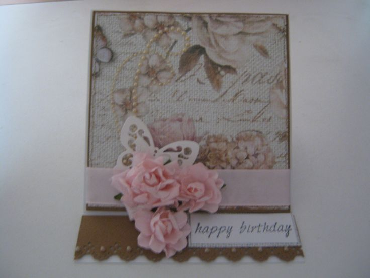 An easel card made for a 60th birthday.