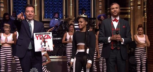 Janelle Monáe & Jidenna – Yoga (Jimmy Fallon Live) | Mr. World Premiere
