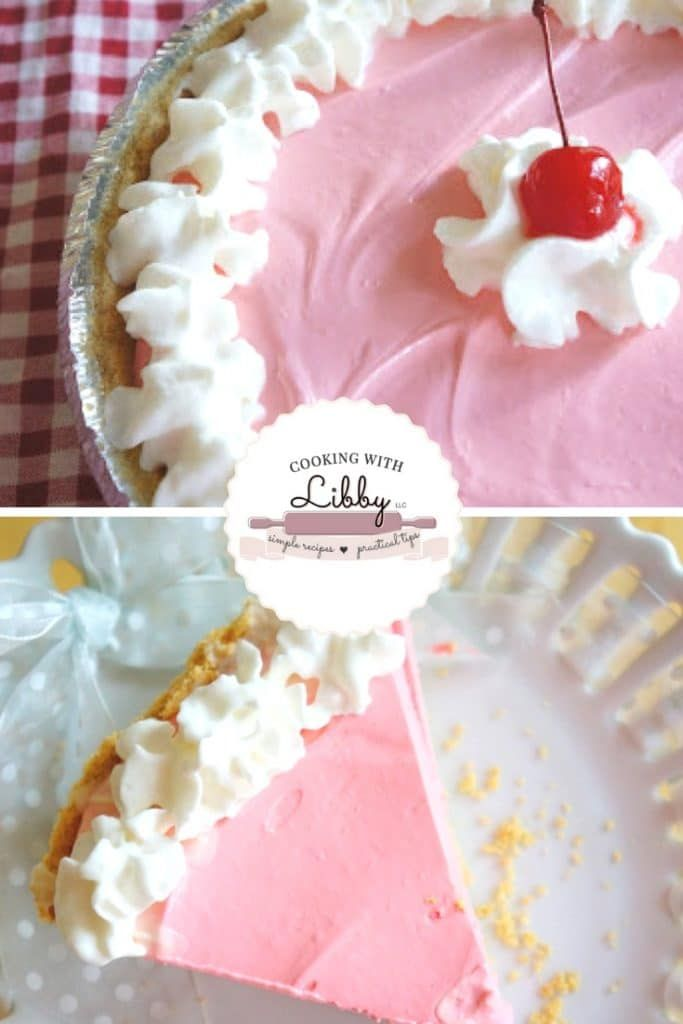 Cherry Kool Aid Pie Easy And 4 Ingredients Recipe Easy Pie Recipes Dessert Recipes Dessert Recipes Easy