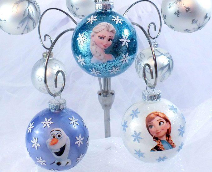 DIY Frozen Christmas Ornaments | ATP | Pinterest | Christmas, Christmas  Ornaments and Ornaments - DIY Frozen Christmas Ornaments ATP Pinterest Christmas