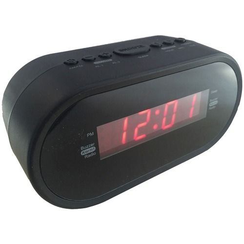 SYLVANIA SCR1221 .6 Digital Alarm Clock Radio