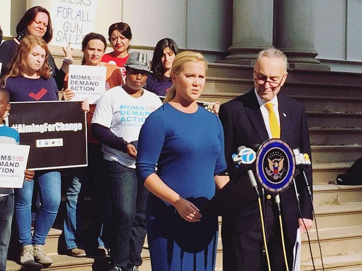 Amy Schumer Continues Her Campaign to End Gun Violence: 'We Need a Public Outcry' http://www.people.com/people/article/0,,20962084,00.html
