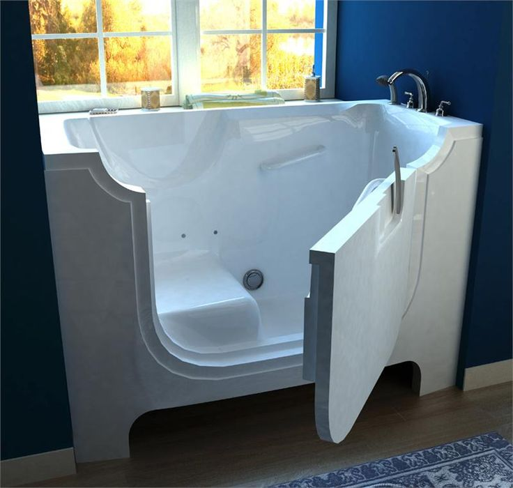 30 x 60 Wheelchair Accessible Walk-In Whirlpool Tubs