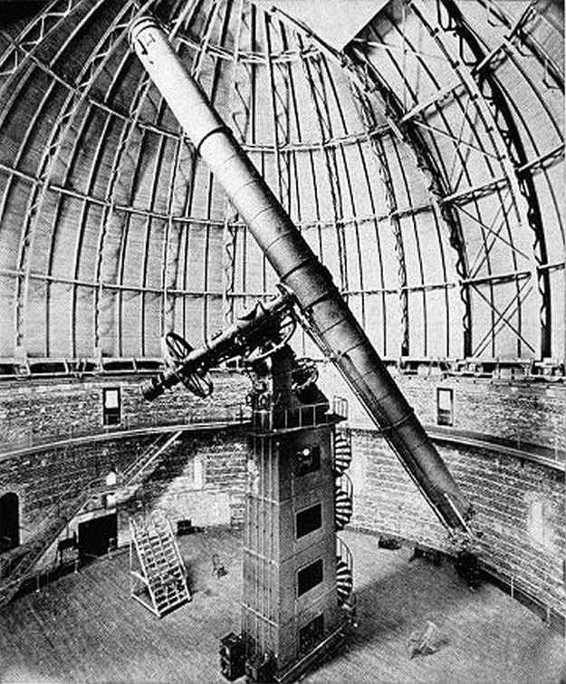 The Yerkes 40 inch refractor telescope - 1897