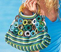 Sommerliche Tasche häkeln crochet purse