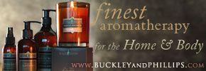 Buckley & Phillips - Aromatherapy web banner ad. Kaleidoscope blog. Aug 2013.