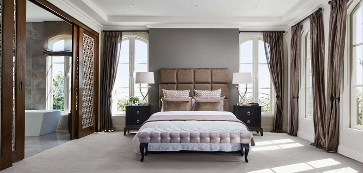 BEDROOM: Rich velvet and lace details mixed with lush silk drapes and opulent, oversized lamps. Visit our Maison Classique Lookbook style here: http://www.metricon.com.au/get-inspired/lookbook/maison-classique
