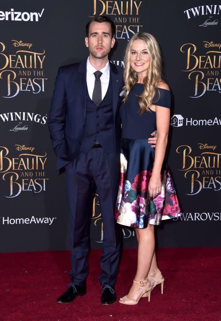 Ugh Neville Longbottom Just Got Married So Congrats I Guess Matthew Lewis Angela Jones Harry Potter Actors