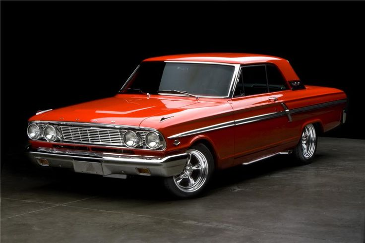 1964 FORD FAIRLANE 500 CUSTOM 2 DOOR HARDTOP- Barrett-Jackson Auction Company