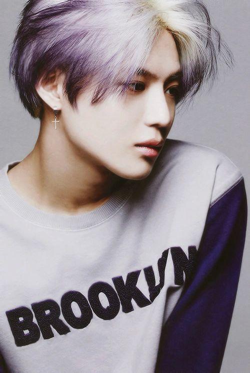 SHINee Taemin gradient purple hair   Styles for my hair ...