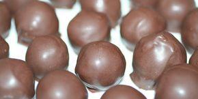Sunde chokoladekugler - sundt slik med dadler og abrikoser