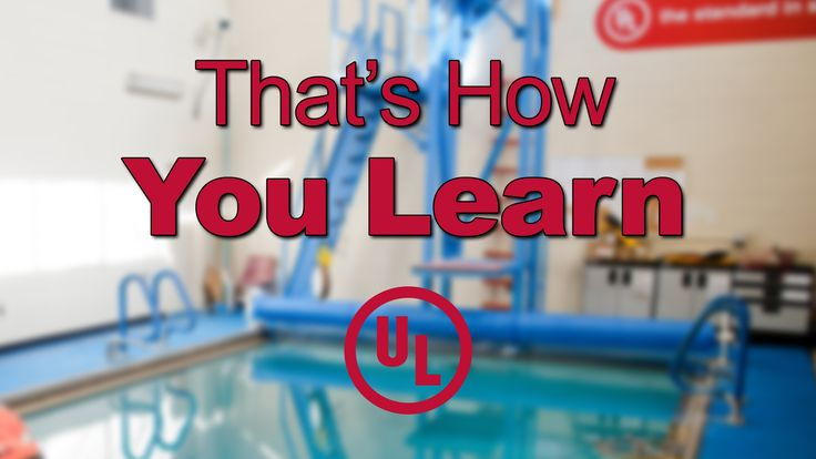That's How You Learn: Episode 1 - Personal Flotation Devices.  Check out of very first episode of That's How You Learn!  As the pilot episode of our new web series, we start by going to the UL facility in Research Triangle Park, NC, to learn about the testing done on Personal Flotation Devices (PFD's). #Science #Engineer #Lab #Webseries #STEM