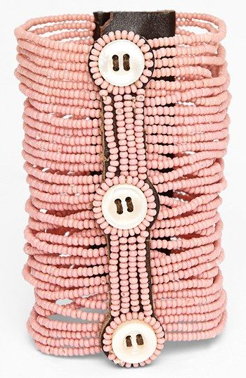 Me to We Artisans 'Pamoja' Beaded Bracelet (Juniors) available at #Nordstrom