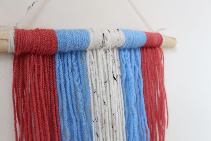 yarn wall hanging beach themed drift wood etsy decoration home decor ideas minimalist handmade