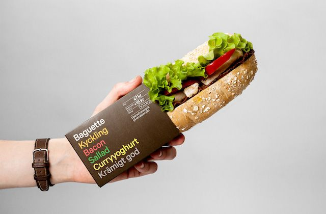 Minimalist Food Packaging by BVD