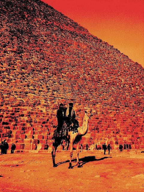 Pyramids, #Egypt.  Plan your trip here: http://www.ixigo.com/travel-guide/cairo