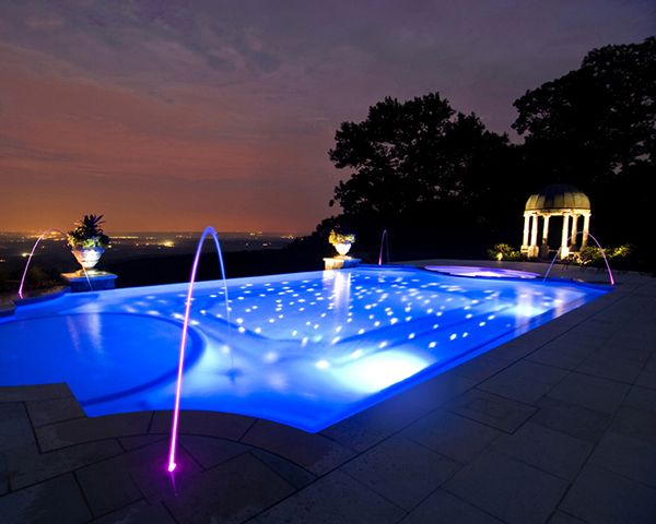 134 Best Images About Pool Lighting On Pinterest | Blue Haven