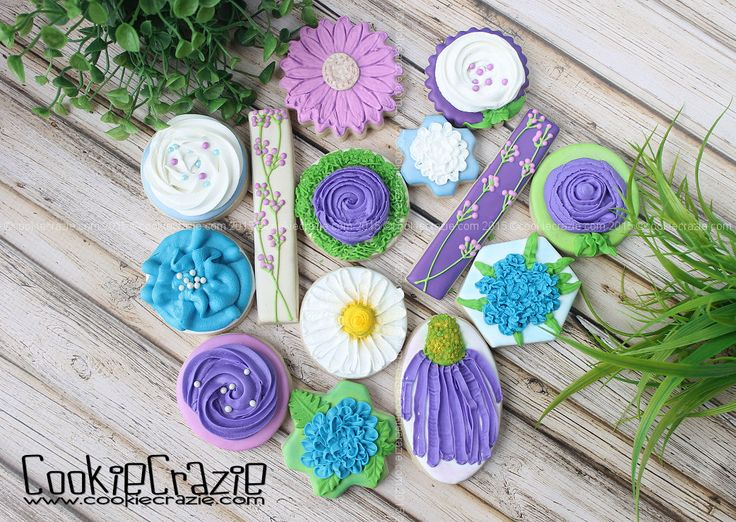 CookieCrazie: Edible Clay Flowers (Tutorial)