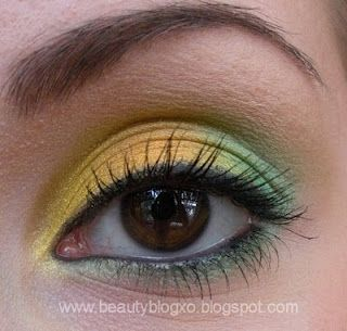 Green Bay Packers inspired makeup