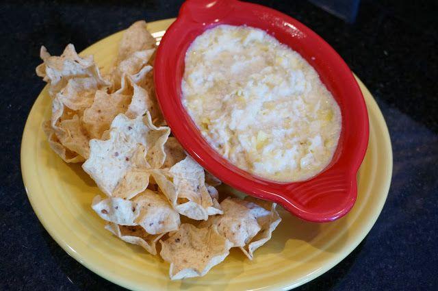 Artichoke Dip - Game Day Food - 3 Ingredients