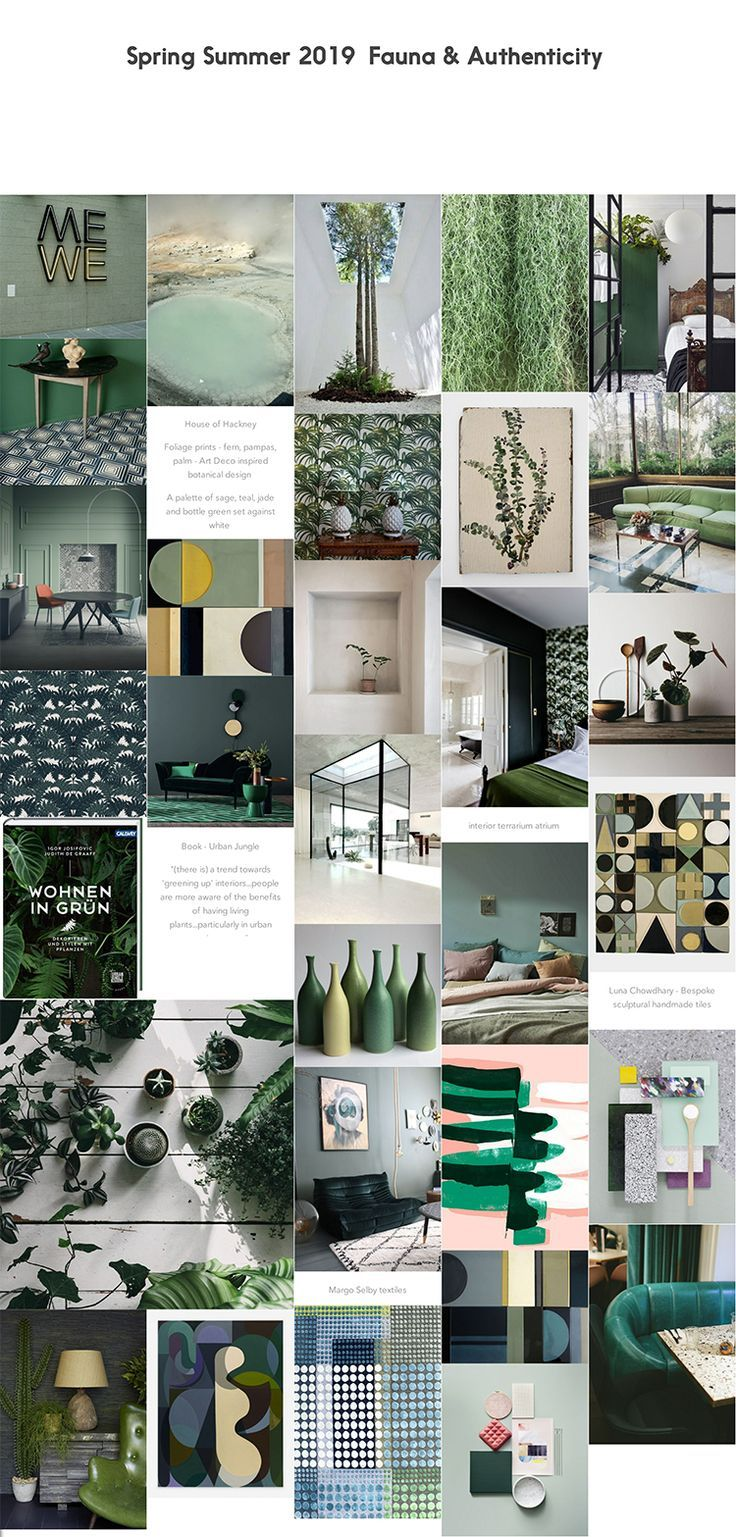 Colour And Trend Forecasting For Interiors Home Trends For Spring