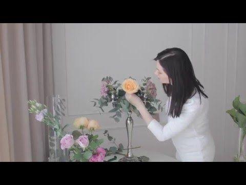 Украшение свадьбы цветами за 2 часа. - YouTube