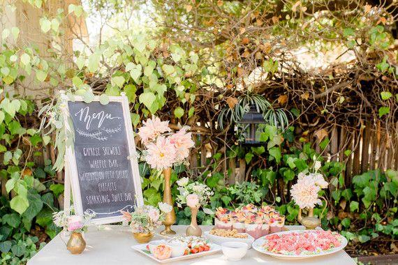 Garden Fairy baby shower