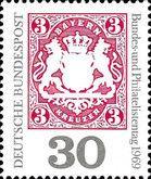 Deutschland  Briefmarke Deutschland Bund Bayern