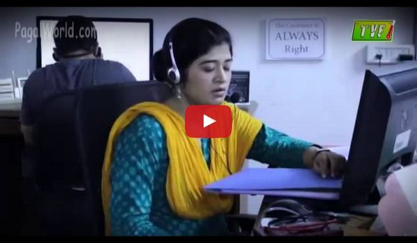 Call Center Girl Funny prank video