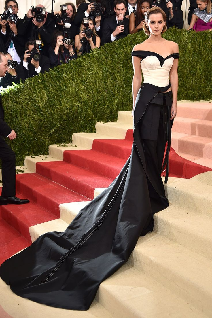 Emma Watson in Calvin Klein at the Met Gala 2016 - 2016 Met Gala Best Dressed Celebrities