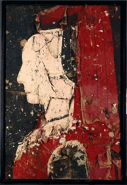 Portrait of a Woman by Manolo Valdes, 1990 (Mixed Media)
