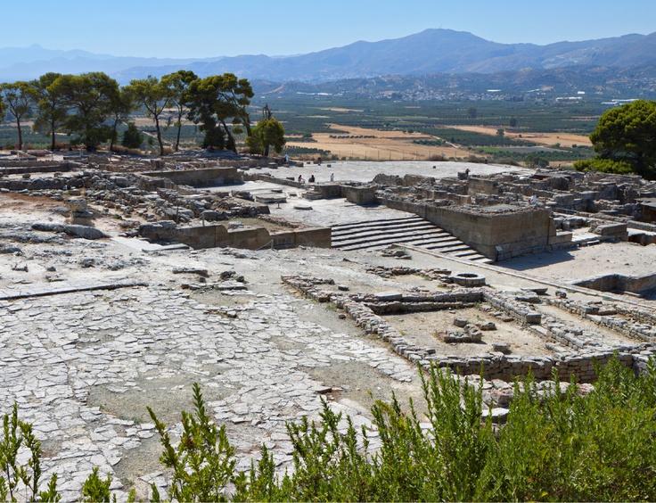 Αρχαιολογικός χωρος Φαιστού