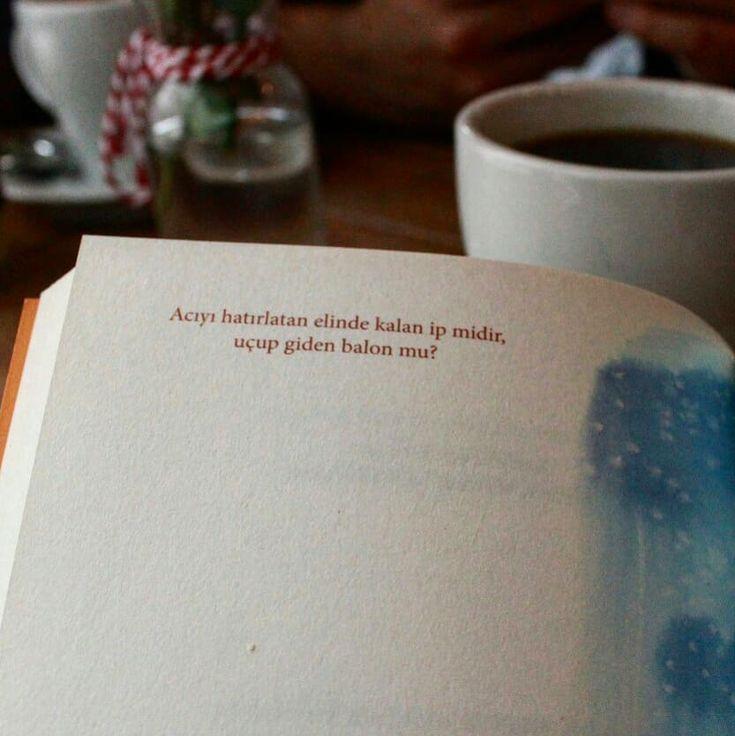 Acıyı hatırlatan elinde kalan ip midir, uçup giden balon mu? - Başak Buğday / Ihlamur Günlükleri (Kaynak: Instagram - dergiot) #sözler #anlamlısözler #güzelsözler #manalısözler #özlüsözler #alıntı #alıntılar #alıntıdır #alıntısözler #şiir #edebiyat #kitap #kitapsözleri #kitapalıntıları