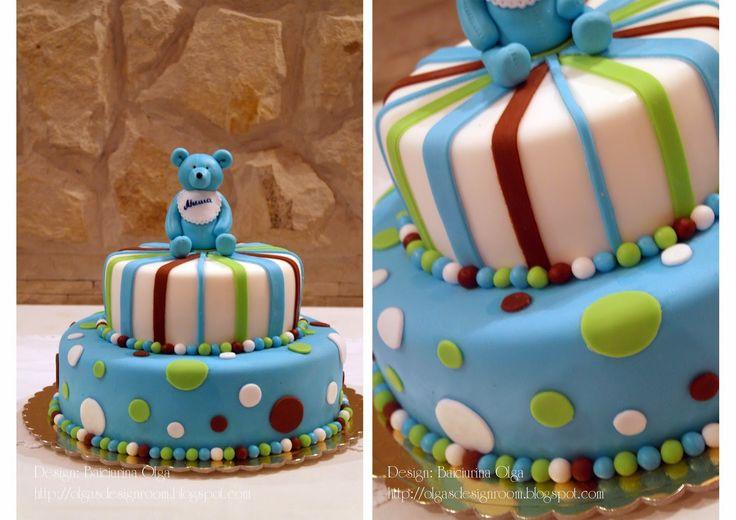 Baiciurina Olga's Design Room: Крестины Миши с мишками)- Baby bear party!