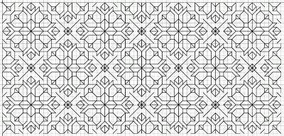 free blackwork embroidery motif and fill patterns