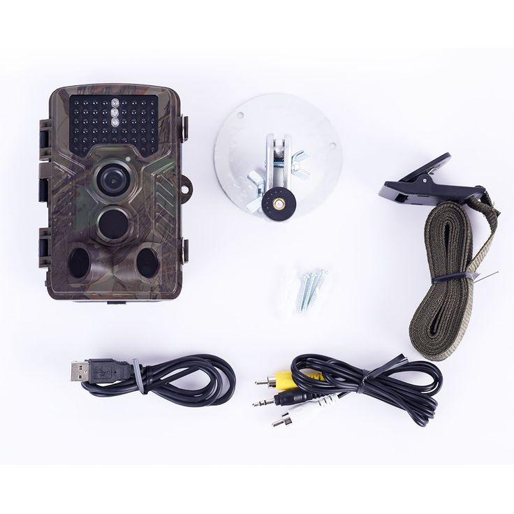 Hunting Camera H801 16MP Digital Waterproof Trail Tactical Wildlife