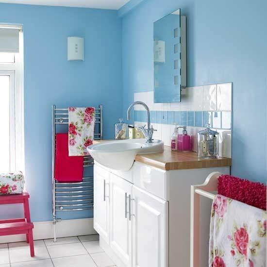 Ber ideen zu rosa badezimmer auf pinterest architectural salvage badezimmer und - Living at home badezimmer ...