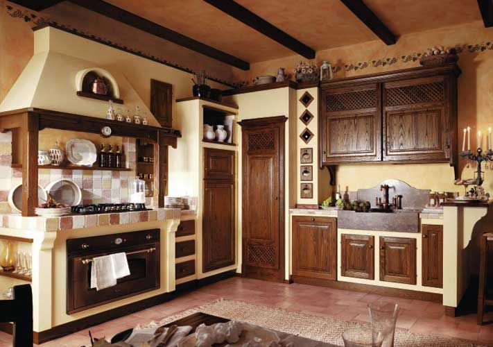 Cucine Componibili Rustiche. Articolo Cucina With Cucine ...