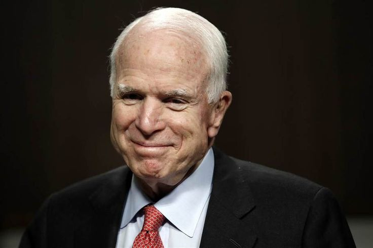 """Revenge is a dish best servedcold. During the campaign, Donald Trump said """"I like people who weren't captured"""" when questioned about McCain's service during Vietnam. The full quote:      """"He's not a war hero. He was a war hero because he was captured...."""