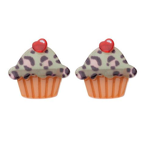 Erstwilder Kimberley's Cupcake Bake Stud Earrings