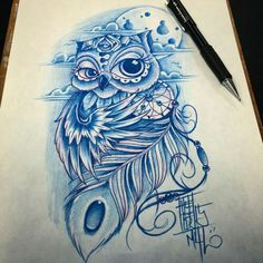 Owl dreamcatcher tattoo idea!!!