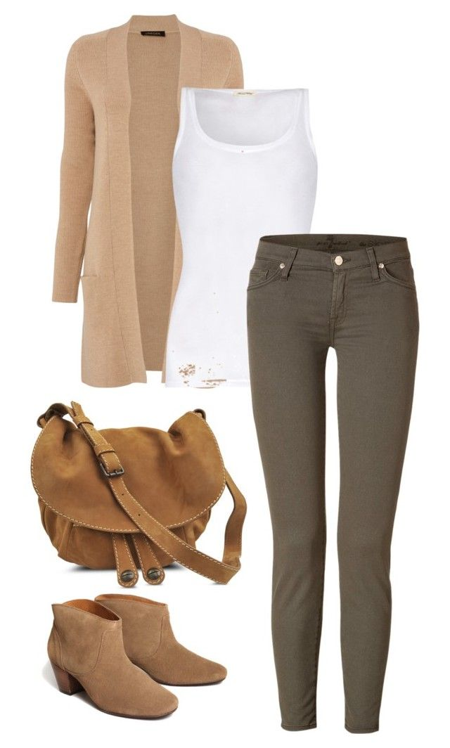 Sin título #2 by lavandar on Polyvore featuring polyvore, fashion, style, Jaeger, American Vintage, 7 For All Mankind, H by Hudson, Gérard Darel and clothing