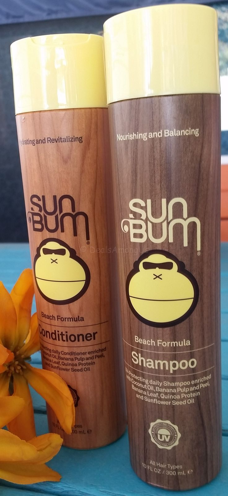 Sun Bum Shampoo and Conditioner Review